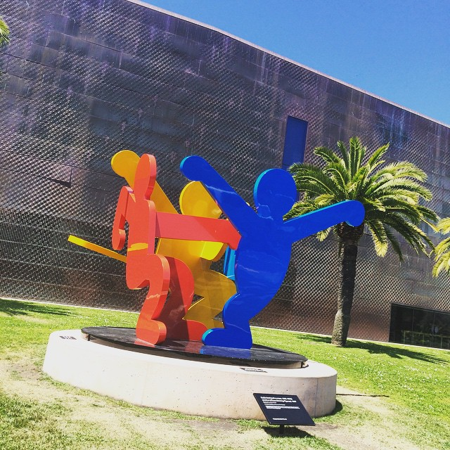 More Keith Haring at the de Young #keithharing #deYoungmuseum #goldengatepark #sanfrancisco #wanderentes #travelingjourno
