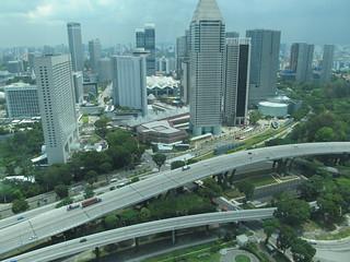 Singapore Flyer Wheel जवळ सिंगापुर की छवि.