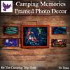 [ free bird ] Camping Memories Framed Photo Decor