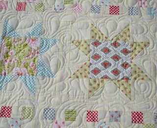 All In A Row - Quilting