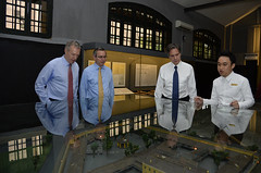 Deputy Secretary Anthony Blinken tours the Hoa Lo Prison in Hanoi, Vietnam on May 18, 2015. [State Department Photo/Public Domain]
