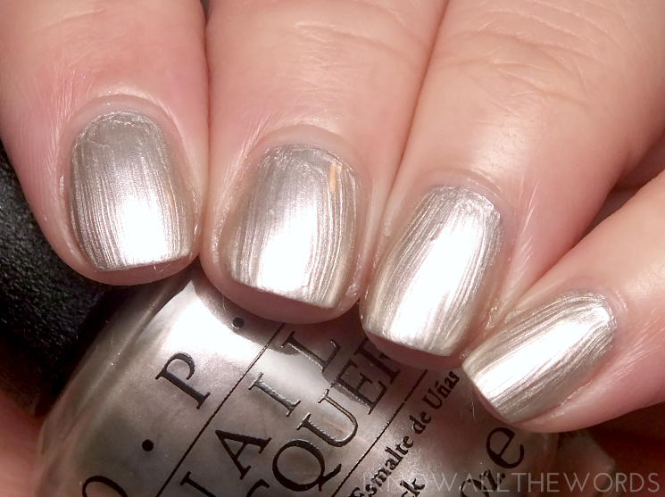 opi soft shades 2015 this silver'smine!