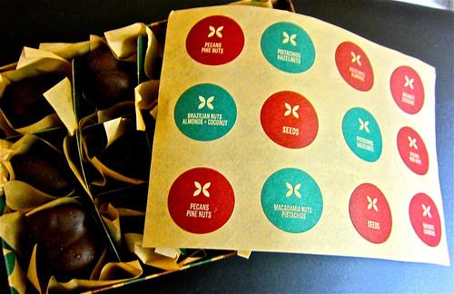 open box of chocolates