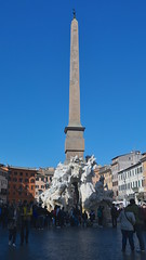 Piazza Navona Four Rivers Fountain, Rome