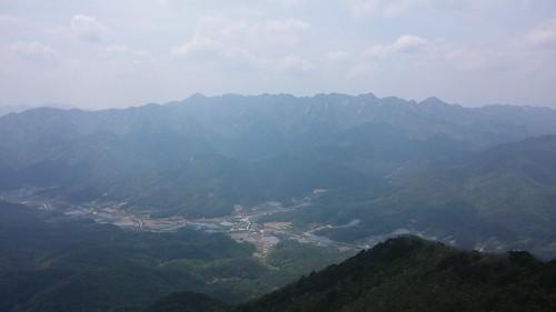 속리산 전경 | 시루봉-청화산행