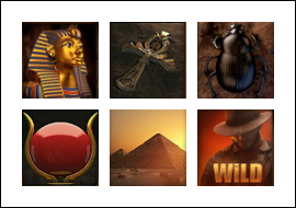 free River of Riches slot game symbols