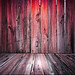 Red Wooden Floor Background
