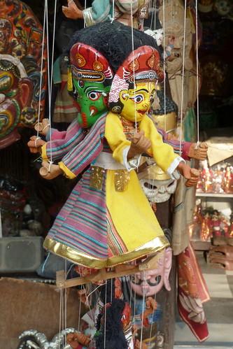 Nepal - Kathmandu - Puppet On A String - 24