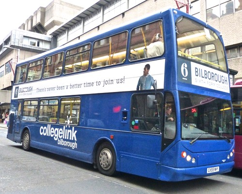 GX55 NHY 'Skills' Volvo B7TL / East Lancs Vyking. Dennis Basford's railsroadsrunways.blogspot.co.uk