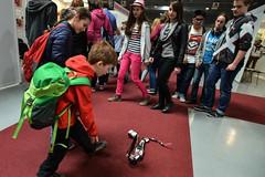 Cafe Neu Romance at Veletrh vědy 2016: LEGO MINDSTORMS R3PTAR robot