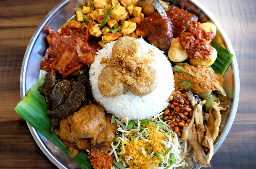 Ambeng Cafe by Ummi Abdullah's Traditional Ambeng Platter or Nasi Ambeng