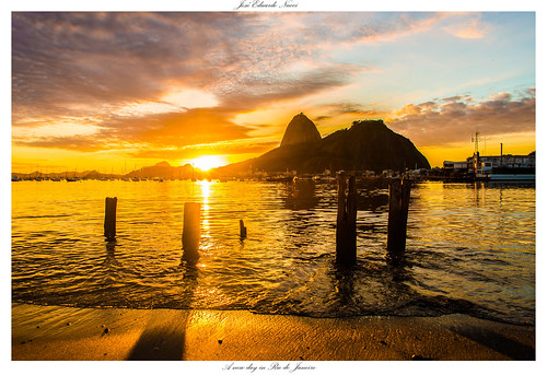 sol nature brasil nikon natureza sugarloaf pãodeaçucar alvorada amanhecer d800 olympicgames botafogobeach brasilemimagens