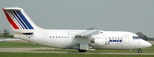 BAe 146-200 EI-PAT