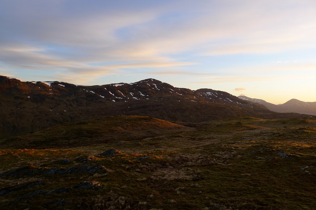 First light on Beinn Bhuidhe