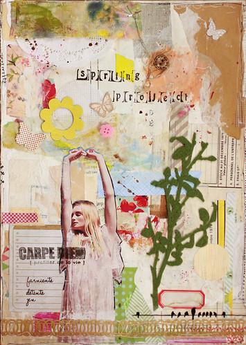 Art journal - Avril -