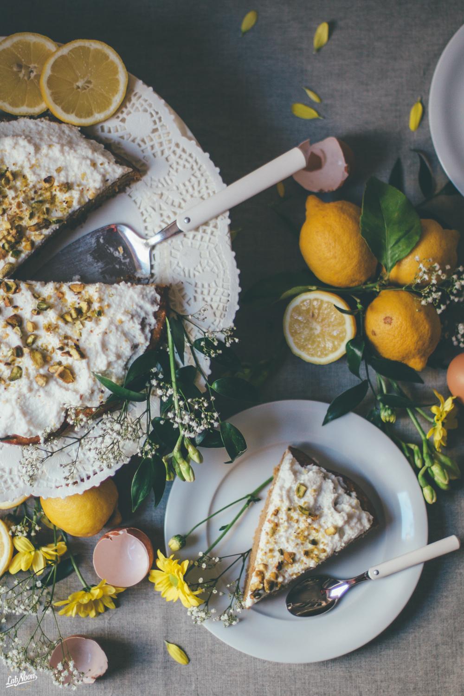 healthy Ricotta Cake | Torta di Ricotta senza burro | Lab Noon