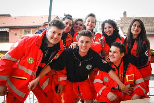 I giovani di Anpas Liguria