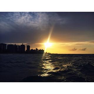 Image of La Playa @ Ocean Park Ocean Park Beach near San Juan. square squareformat iphoneography instagramapp uploaded:by=instagram