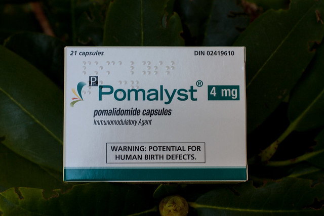 Pomalyst chemo with braille