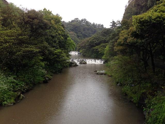 River at Cheonjiyeon Waterfall
