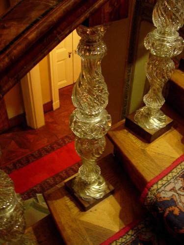 Escalera en el palacio de Dolmabahçe
