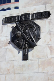 One of the decorations on Wellington's Cenotaph