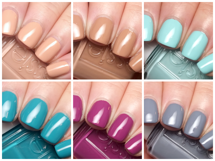 essie flowerista collection spring 2015 swatches