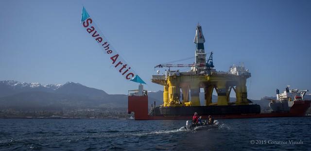 Arctic Destroyer Arrives in Port Angeles