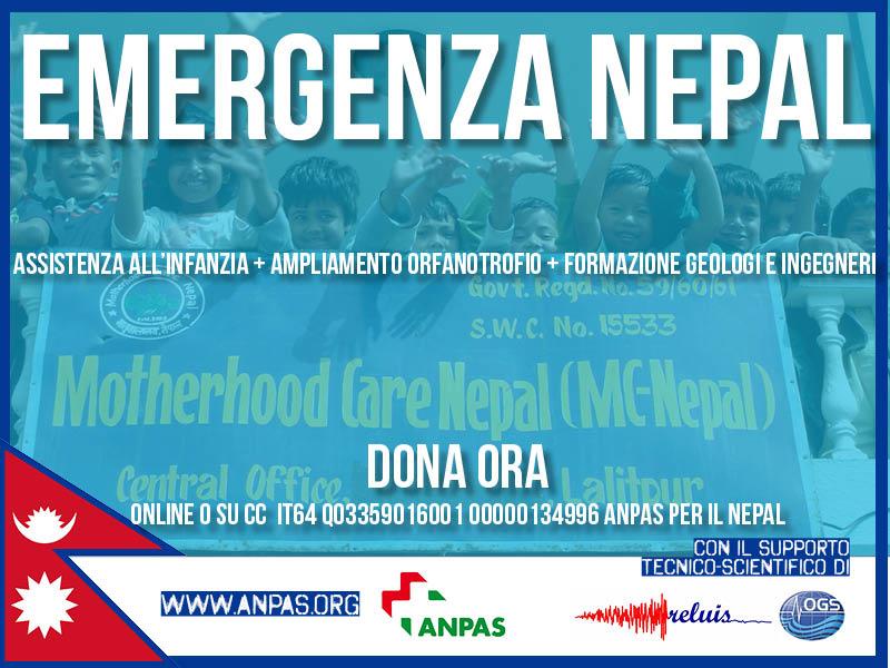 Raccolta fondi per il Nepal