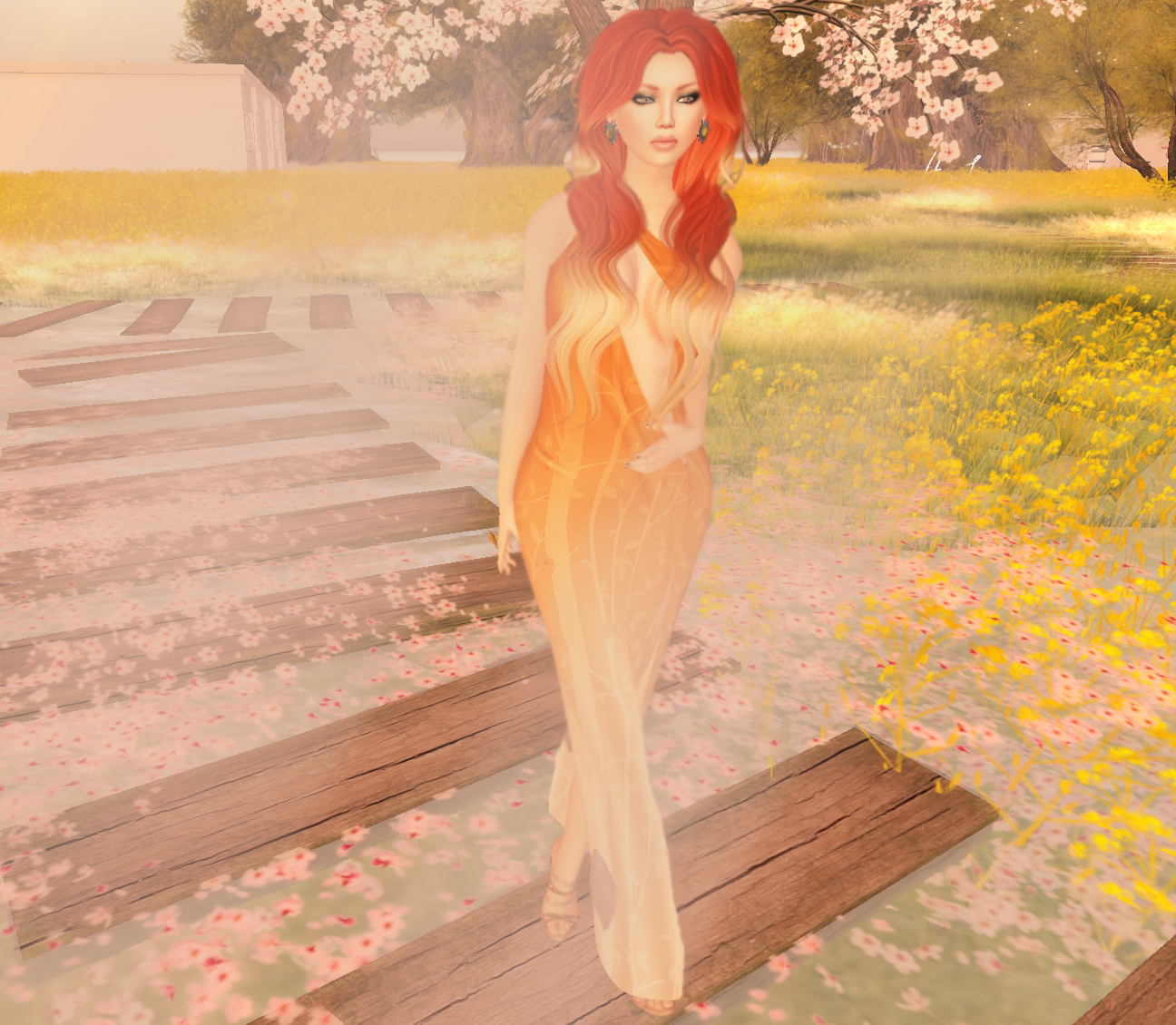 Spring is in the Air: SL Outfit of the Day