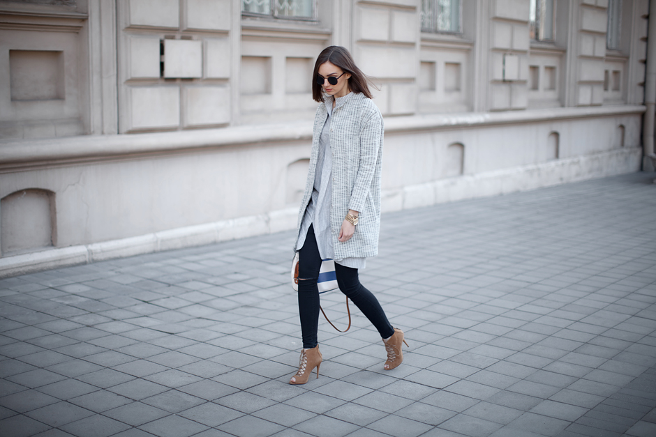 how-to-wear-gray-grey-coat-outfit-street-style