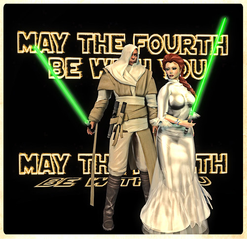 May the Fourth Be With You!