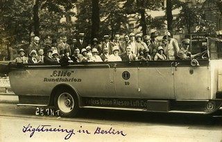 Sightseeing in Berlin 1929