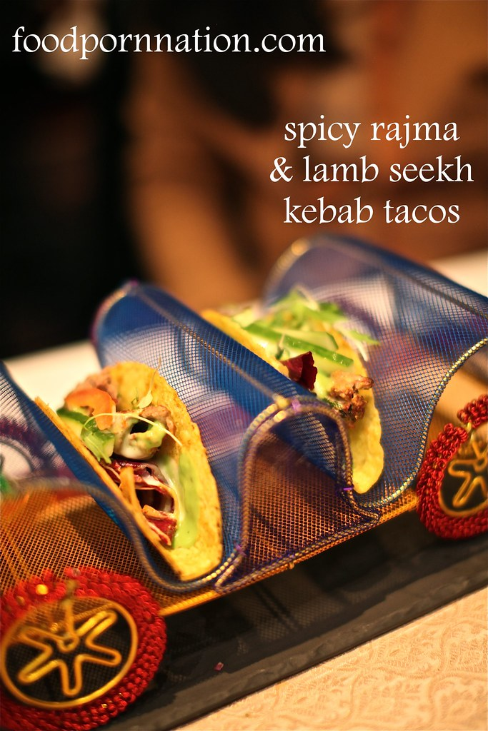 Spicy Rajma & Lamb Seekh Kebabs Tacos - Gaylord - Fitzrovia - London Food Blog