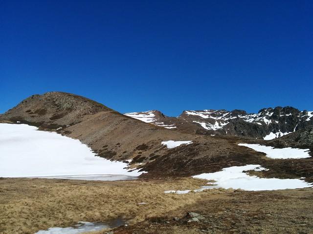 Auf dem Weg zum 2. Gipfel, dem Kor