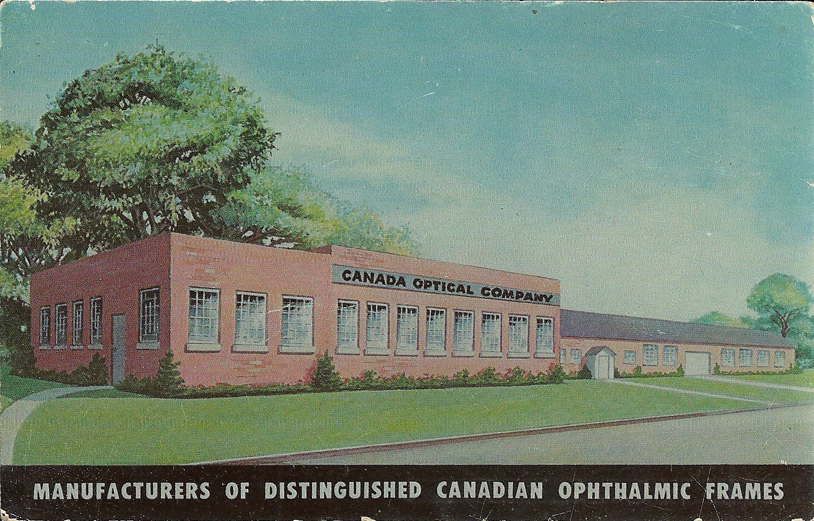 2015.10 Canada Optical Company postcard