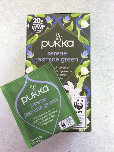 Pukka Serene Jasmine Green tea