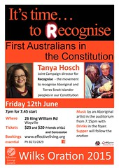 Wilks Oration 2015 - It's Time to Recognise First Australians in the Constitution