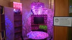 Rainbow tessellation room at Firefly's Somerville Open Studios
