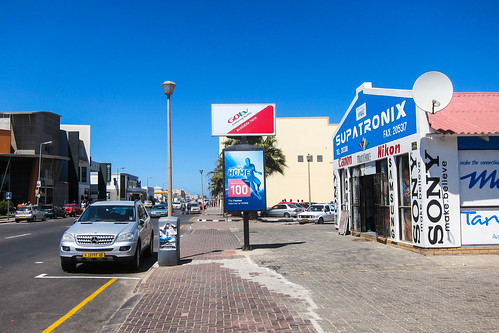 Streets of Walvis Bay, Namibia