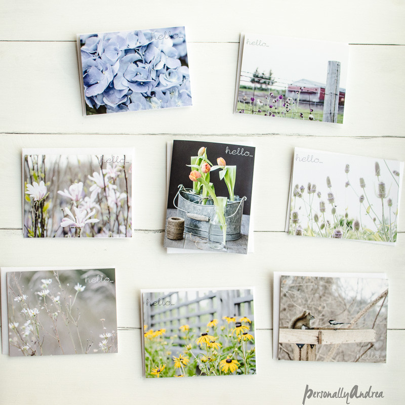 Personally Andrea Etsy Shop cards