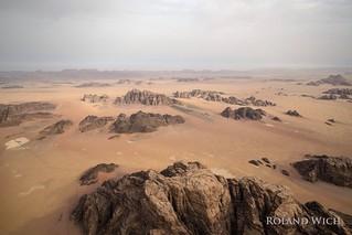 Wadi Rum Ballooning
