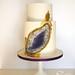 Geode Cake by Jen's Cakery