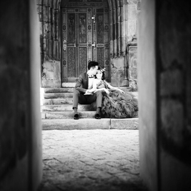 Bridal Shoot at St. Vitus Cathedral