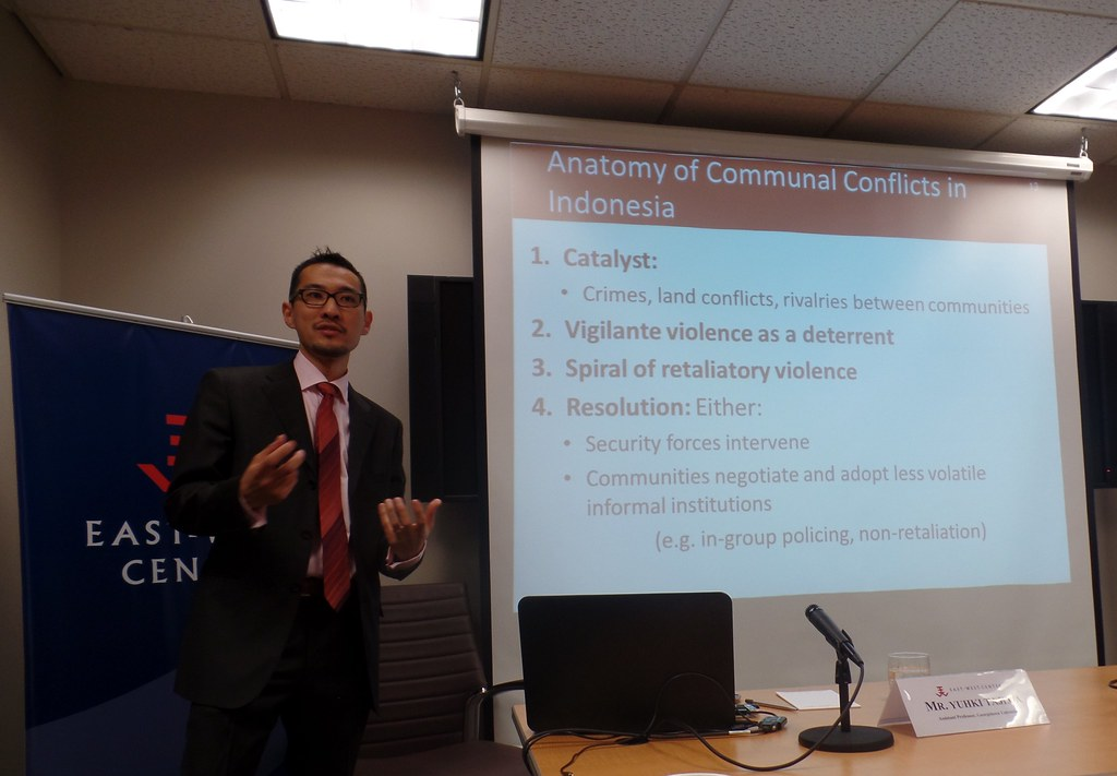 Yuhki Tajima  Assistant Professor, Edmund A. Walsh School of Foreign Service,  Asian Studies Program, Georgetown University