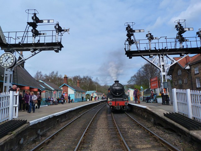 Estación de Grosmont (Yorkshire)