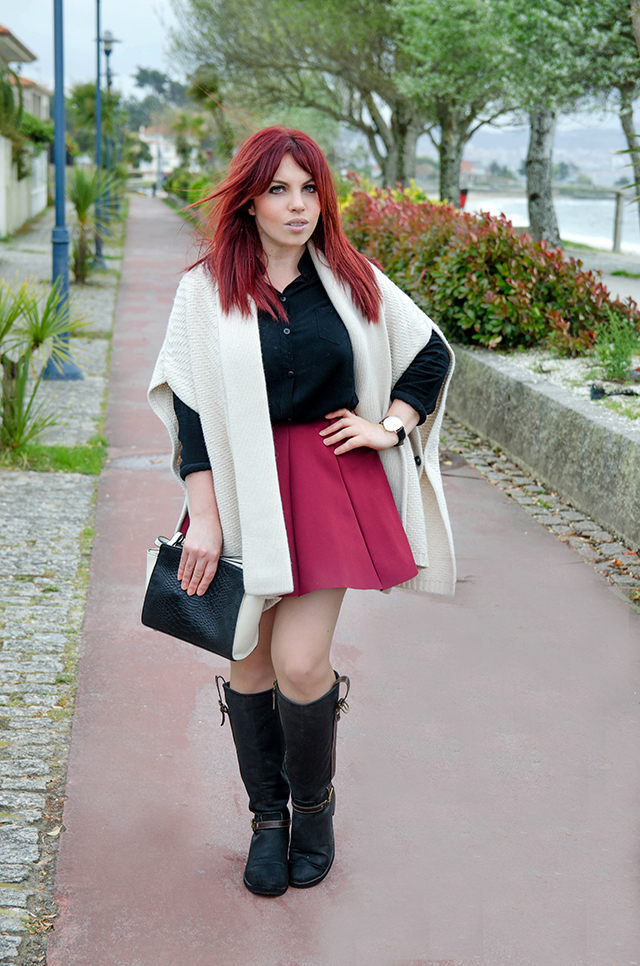 Look lady con capa