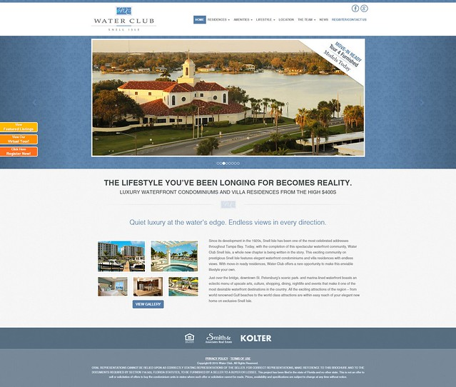 Florida Waterfront Property   Welcome to Water Club