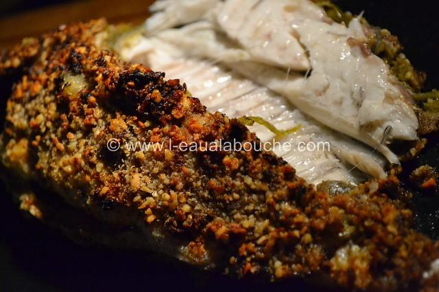 Dorade au Four Croustillante au Curry  © Ana Luthi Tous droits réservés
