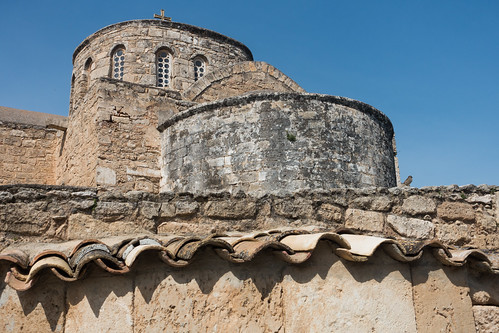 museum architecture cyprus monastery dome greekorthodox famagusta salamis lowangleview turkishrepublicofnorthcyprus rhkamen